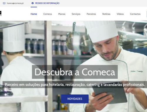 COMECA renova Website
