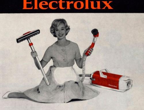 Parabéns pelos primeiros 100 anos Electrolux!