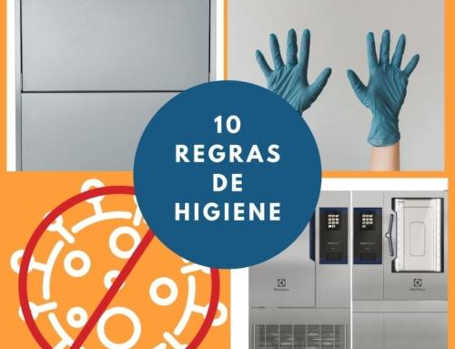 10 REGRAS DE HIGIENE NA COZINHA PROFISSIONAL