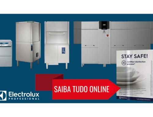 NOVA GAMA DE LAVAGEM DE LOUÇA HIGIENE & LIMPEZA ELECTROLUX PROFESSIONAL