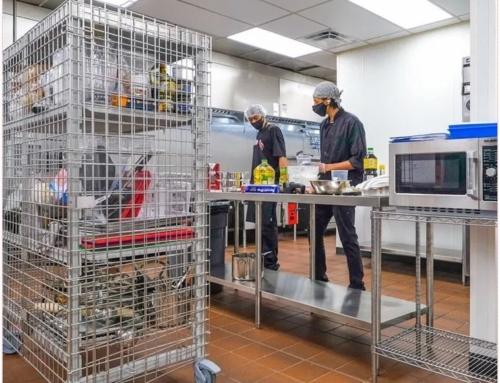 Uma nova forma de armazenamento que torna as cozinhas partilhadas seguras